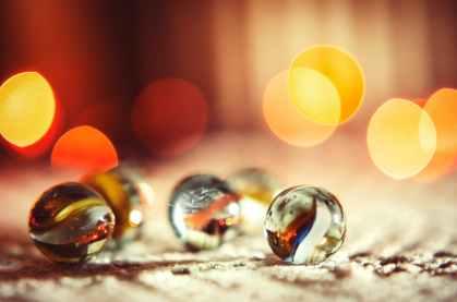 blur bokeh depth of field glass items